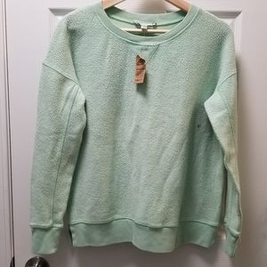 American Eagle AEO Cozy Inside Out Crewneck